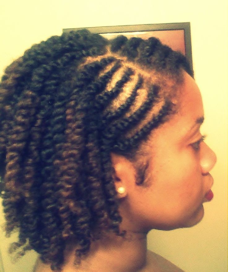 85 Hot Photo Look Good With The Flat Twist Hairstyles Natural
