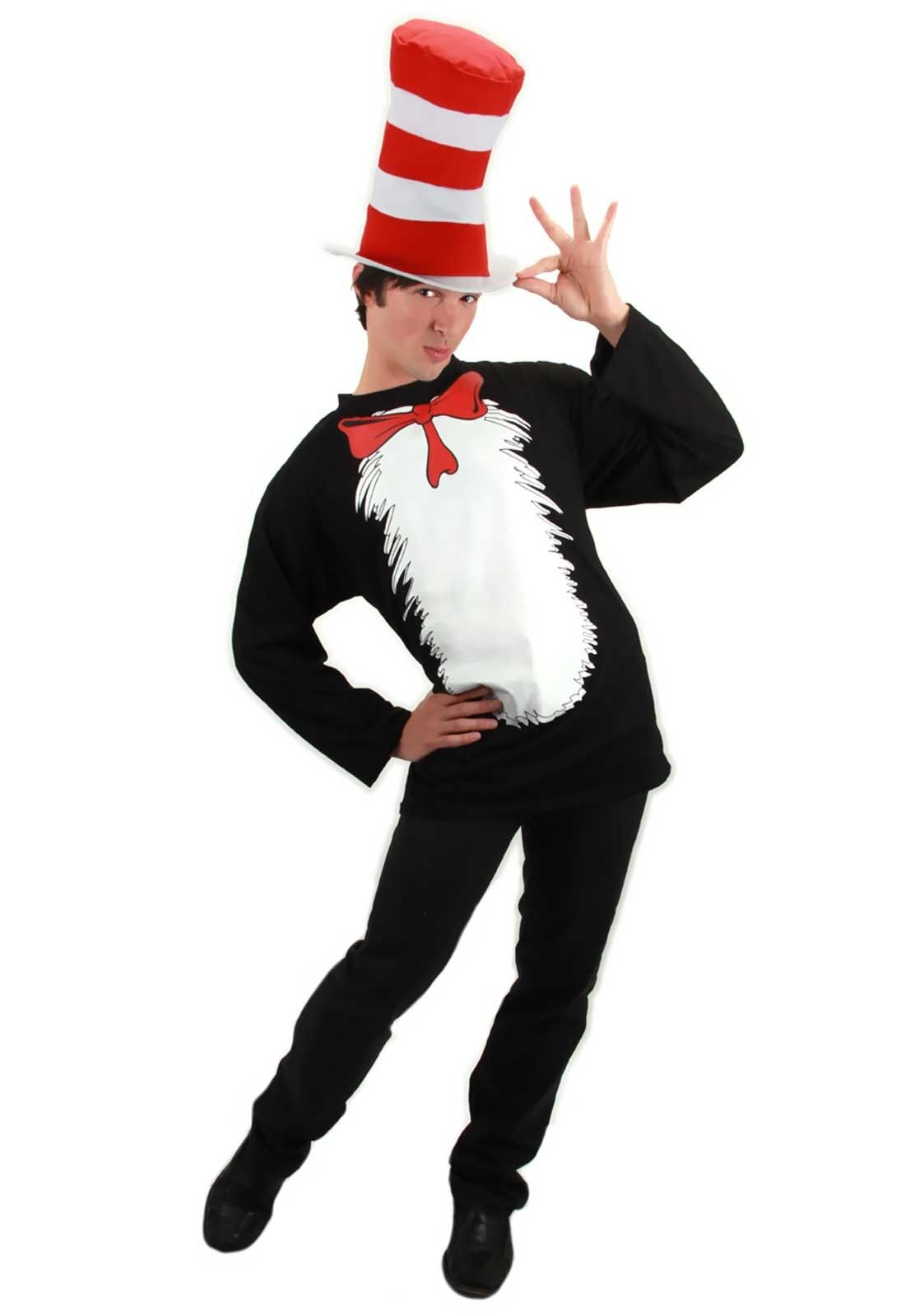 Officially Licensed Cat in The Hat Dr Seuss Poncho