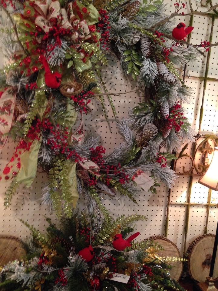 Wreath and matching arrangement