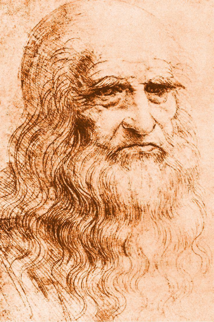 Resultado de imagen para Autorretrato (Leonardo)