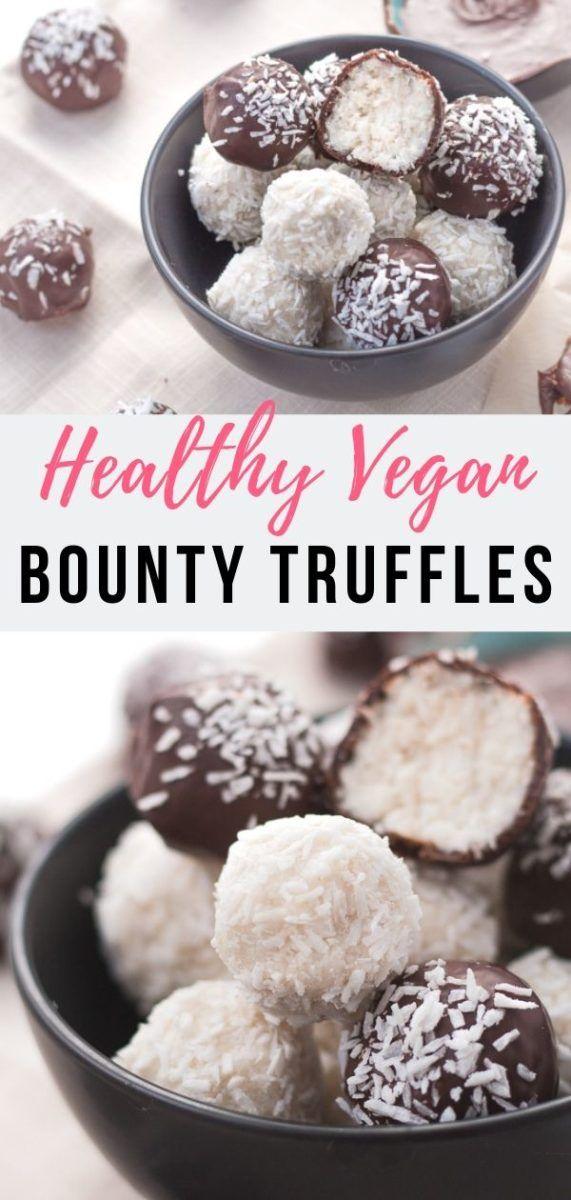 Vegane Kokos Pralinen à la Bounty & Raffaello - das perfekte essbare Geschenk | Zucker-frei, Paleo & Gluten-frei