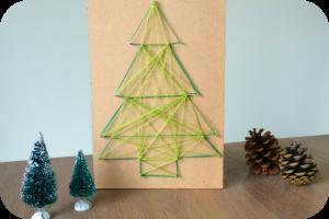 DIY; kerstboom van spijkers en garen // xmas //christmas // christmastree