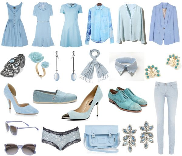 icy blue