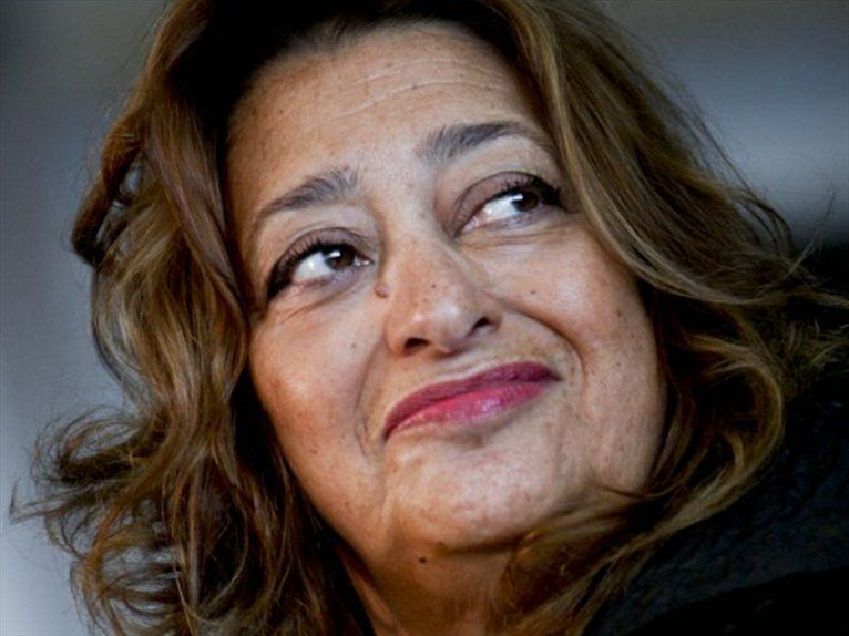Orgoglio, soddisfazione. Zaha Hadid made a Dame in the Queen's birthday honours list