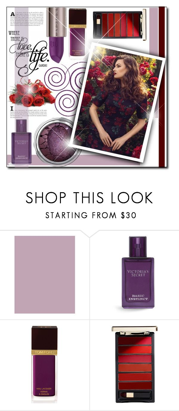 """""""Beauty set -dark purple"""" by patria ❤ liked on Polyvore featuring beauty, Graham & Brown, Victoria's Secret, Tom Ford, L'Oréal Paris, Urban Decay and Beauty"""