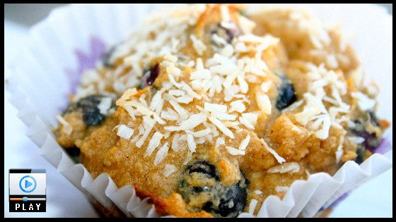 Who said food storage meals are boring? Gluten Free Blueberry Muffins made with THRIVE freeze dried ingredients. Delicious!  THRIVE foods are amazing and most have a 25 year shelf life. See more recipes and videos at www.thrivelifemarketplace.com