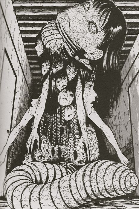 Ghosts Escapades Manga Artist Creepy Art Japanese Horror