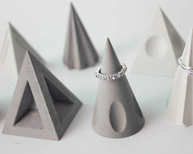 Cassette Is Not Dead By Making A Range Of Product Designboom Shop In 2020 Concrete Ring Modern Geometric Jewelry Retro Lighting