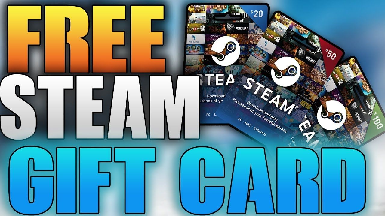 Are you searching for Steam Gift Card or Free Steam Wa