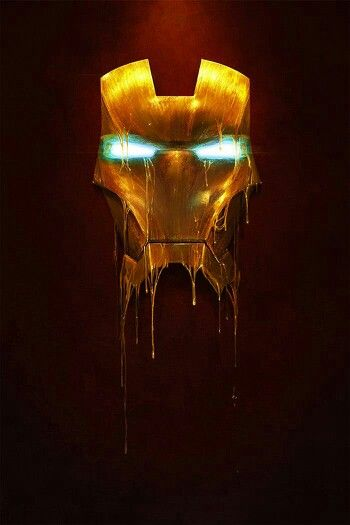 melting iron man mask - photo #1