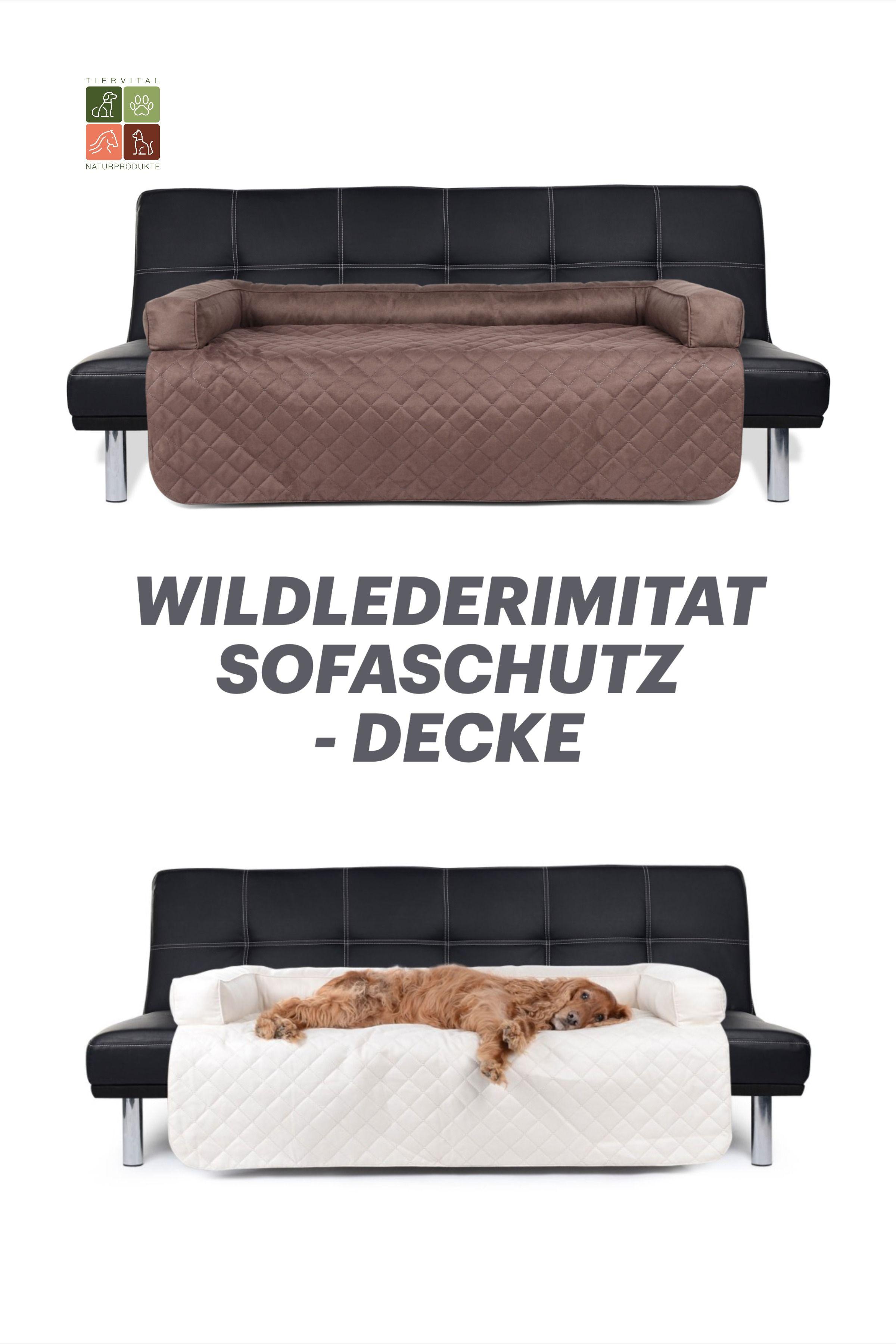 Sofaschutz Dakota Wildlederimitat In Trendigen Farben In 2020 Sofaschutz Hundekissen Schwarze Hunde