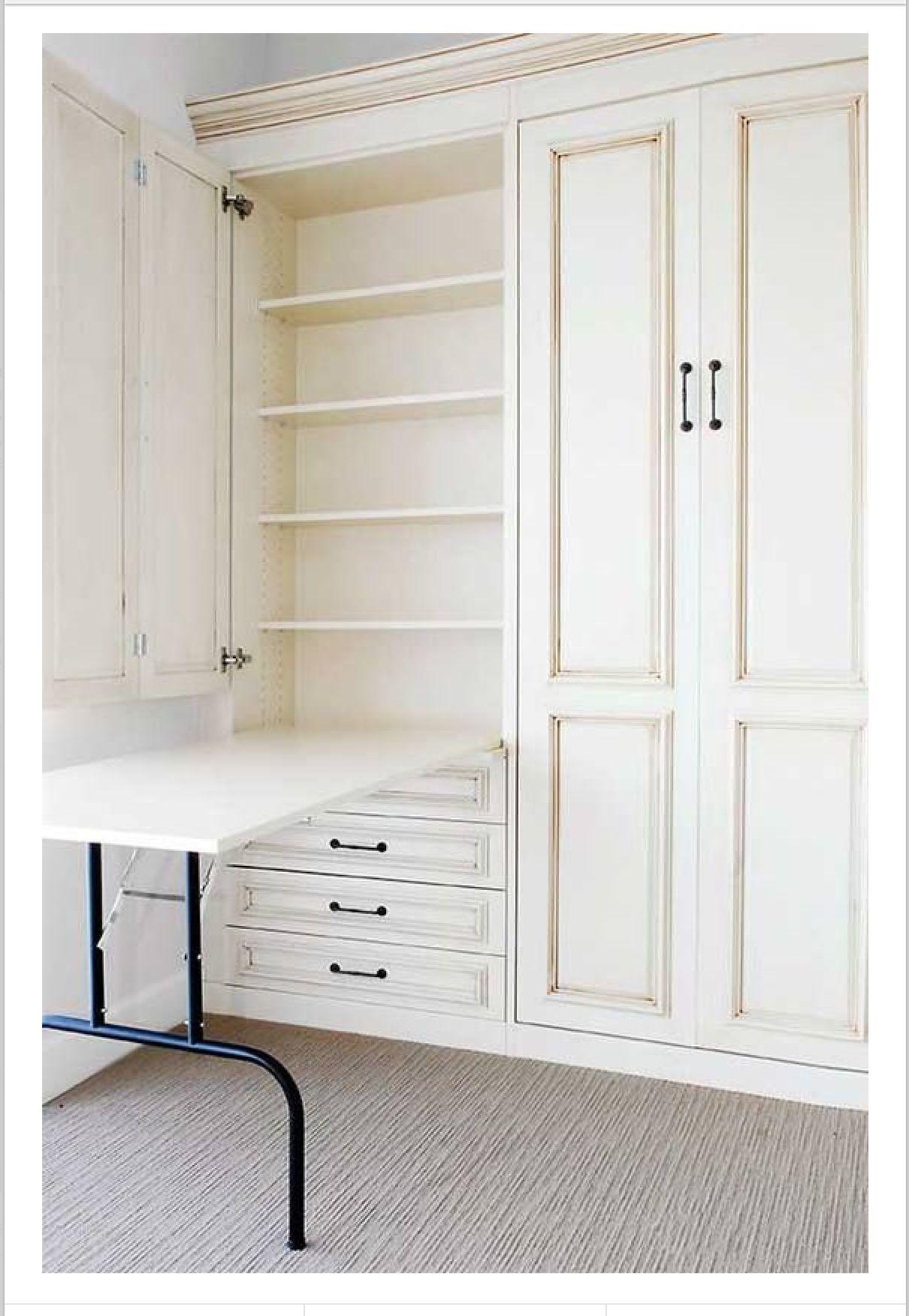 Drop down table for laundry or crafts inspirasjon til huset