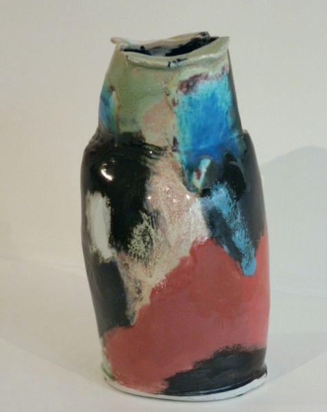 Ceramic By Eduardo Constantino Portuguese 1948 Vases