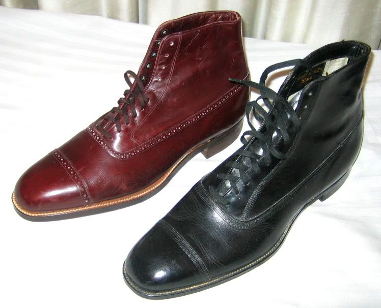 Show us your SHOES !!! | 1920s mens shoes, Mens boots fashion, Oxford boots  mens