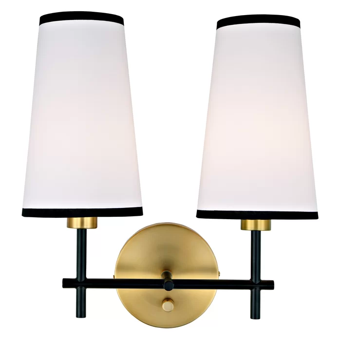 Burvale 2 Light Armed Sconce Sconces Wall Sconce Lighting Wall Lights