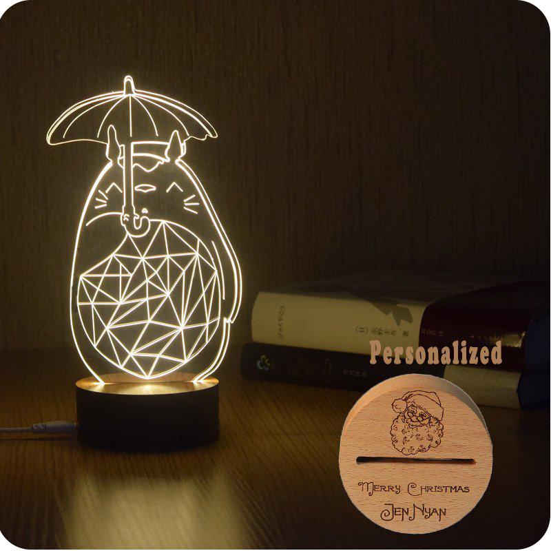 Ruler Cartoon Lights LED 3D Lettering Light Holiday Gift Light ...