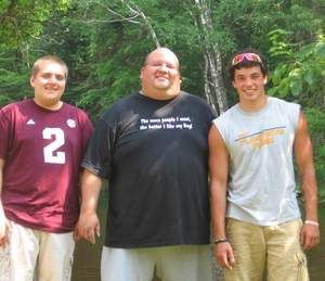 Jeremy Whipps Sr., middle, stands with his two sons, Jeremy Whipps Jr., left, and Bryce Wold in this undated photo. Jeremy Whipps Sr. died F...