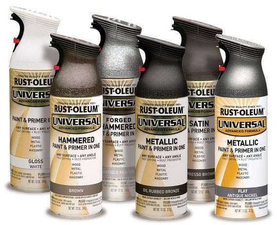 Rust-Oleum Universal 12 oz  All Surface Satin White Spray