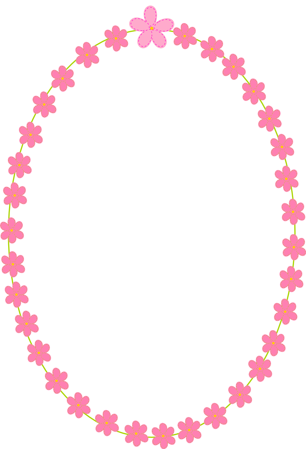 Scrapbook paper and stickers - Free Digital Flower Frames Scrapbooking Paper And Stickers Png