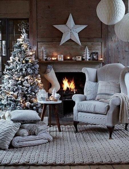 Fotos Casas Decoradas Navidad.Navidad Casas Decoradas Diseno Decoracion Navidad