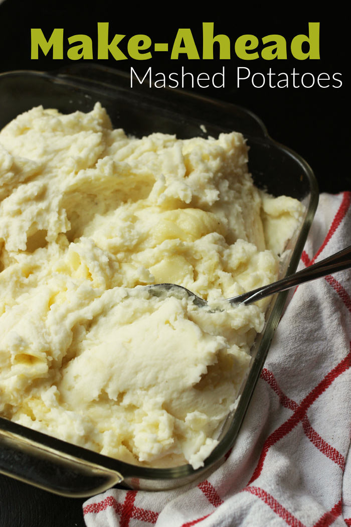 Creamy Make Ahead Mashed Potatoes Just 6 Ingredients Recipe Frozen Potatoes Potatoes Make Ahead Mashed Potatoes