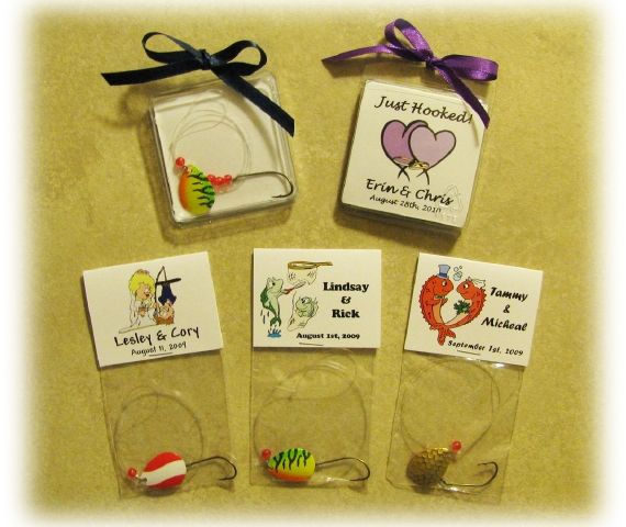 Fish Theme Wedding Favors The Perfect Catch Your Fishing Theme