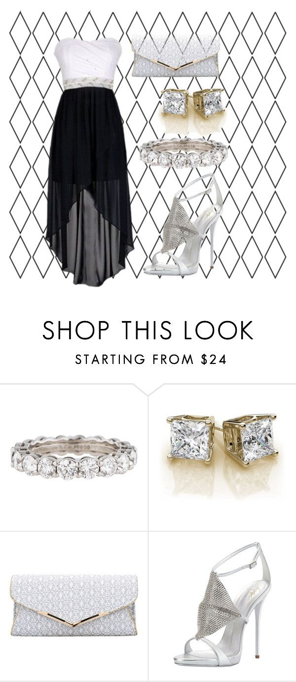 """Diamond"" by liesandsecrets on Polyvore featuring Tiffany & Co. and Giuseppe Zanotti"