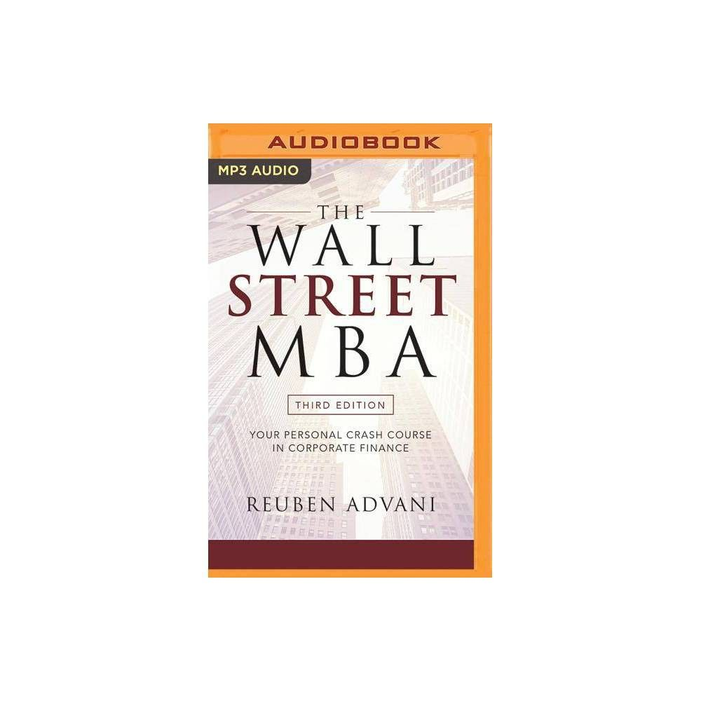 The Wall Street Mba, Third Edition - by Reuben Advani