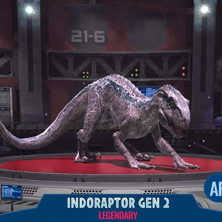 Indoraptor Gen 2 Info This Indoraptor Have Blue S Dna On It This Hybrid Light Scales Are Reflectives In 2020 Jurassic World Dinosaurs Jurassic Park Jurassic World