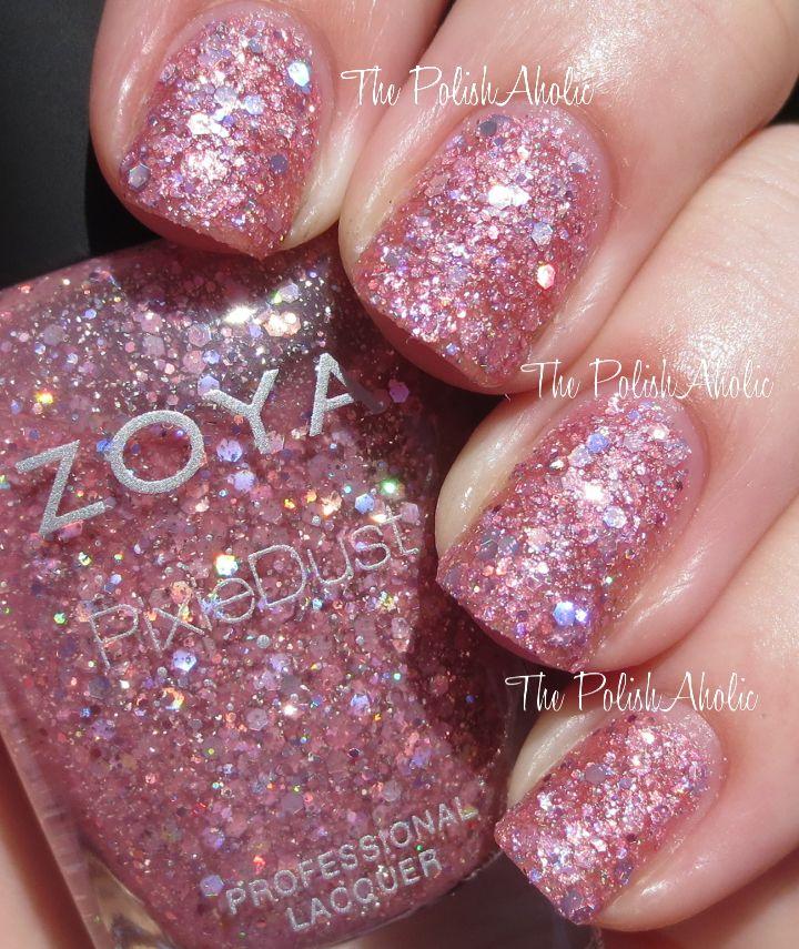 Zoya Magical Pixie #nailpolish in Ginni!   ¯`•.¸¸.ஐPINK FASHION ...