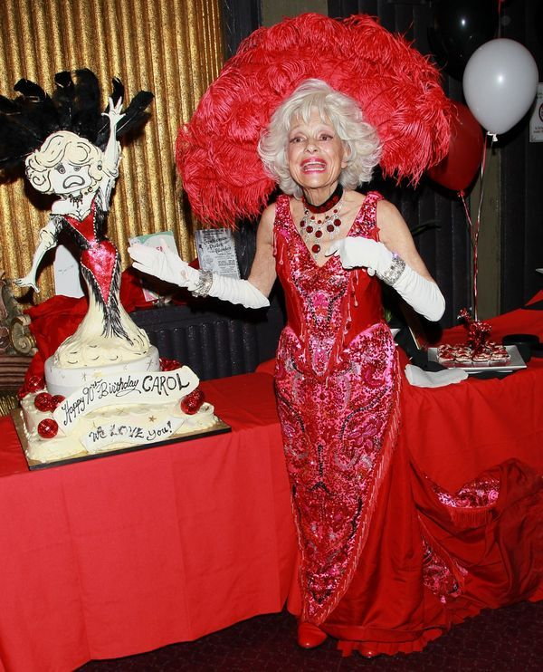 Carol Channing birthday party | Well...Hello, Dollies ...