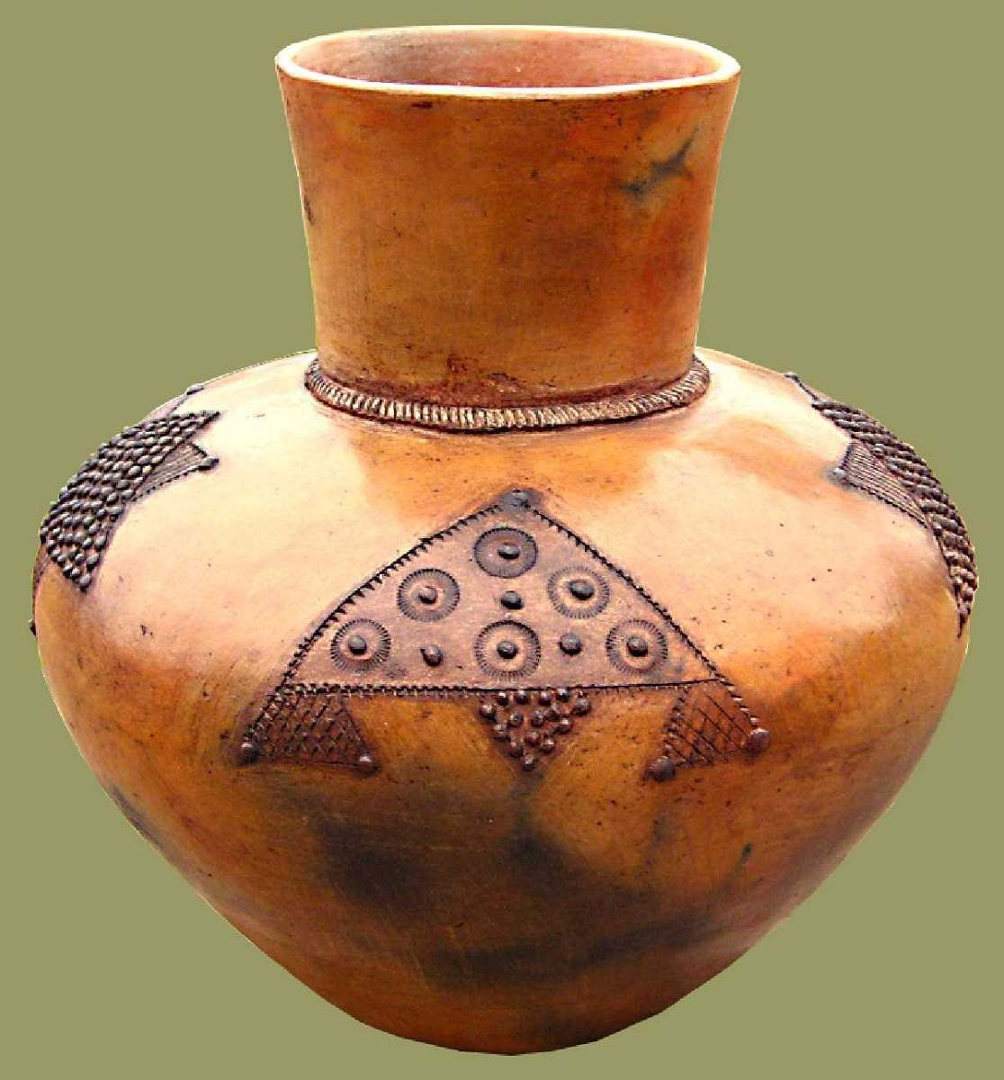 Small clay pots for crafts - Clay Pot Ukhamba In Zulu Used For Storing Beer A Small