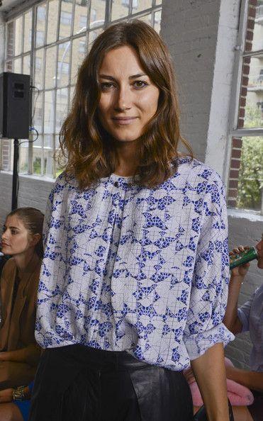 Giorgia Tordini Photos Photos Mbfw Front Row At Tanya Taylor Beauty Clothes Tanya Taylor Style