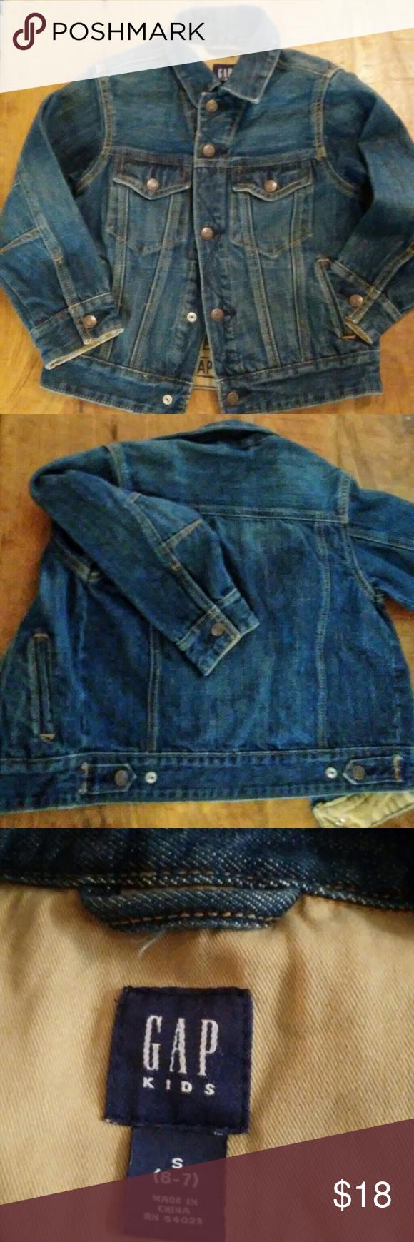 94439d34d600 Kids Gap Denim Jacket 6 7 EUC Boy girl denim jacket Excellent used ...