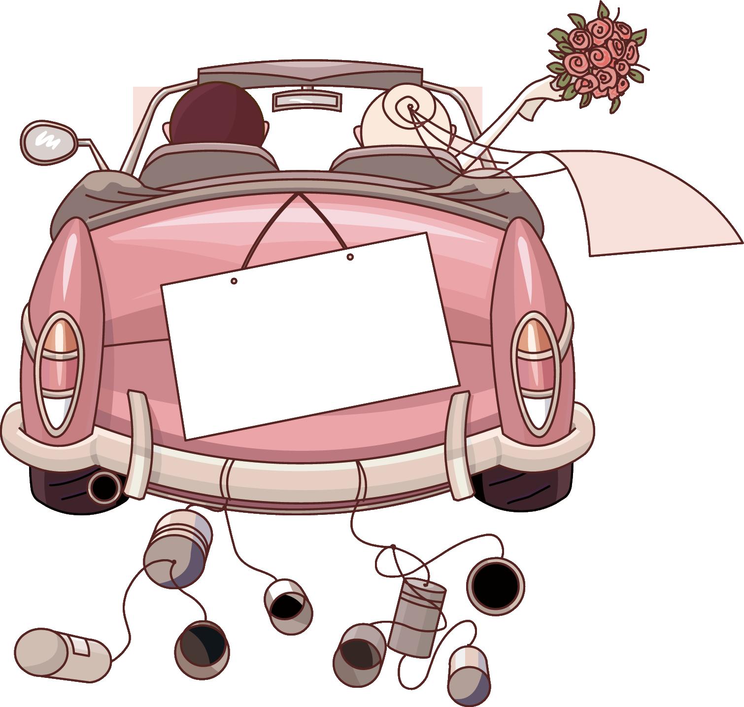 Car Wedding Invitation Clip Art Just Married 1510 1435 Transprent Png Free Download Car M Wedding Drawing Wedding Invitation Background Wedding Gift Money