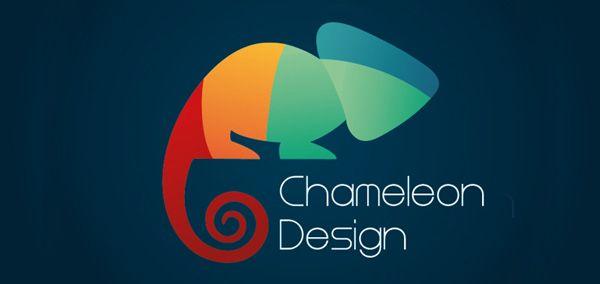 Chameleon design logo logos design logos chameleon for Design lago