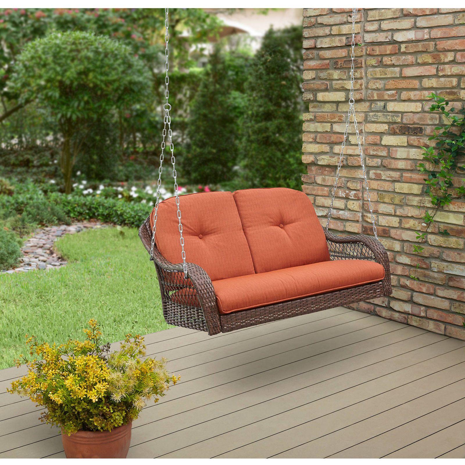 eBay SALES home_garden_discounts Wicker 3Seater Swing