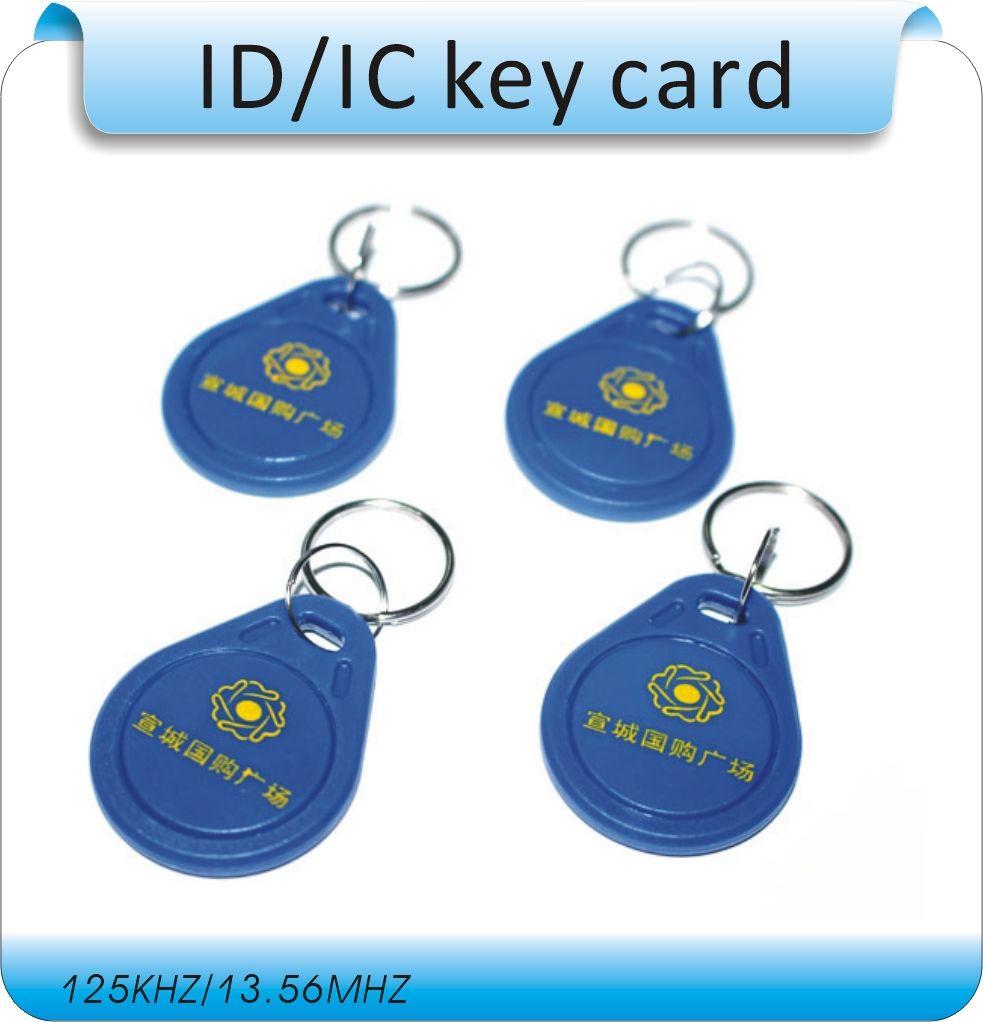 Free shipping 100pcs/Lot include printing logo 125KHZ RFID