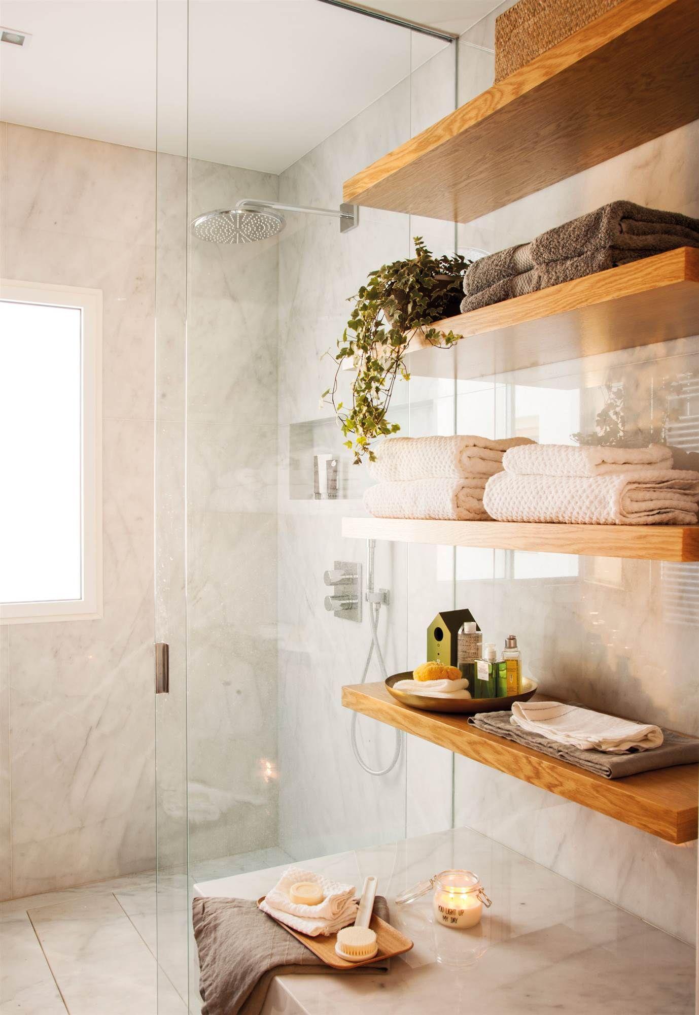 Piezas mínimas para el mínimo espacio | Decoracion baños ...