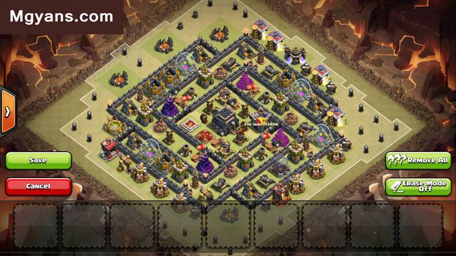 Th9 Best Defense War Base 7