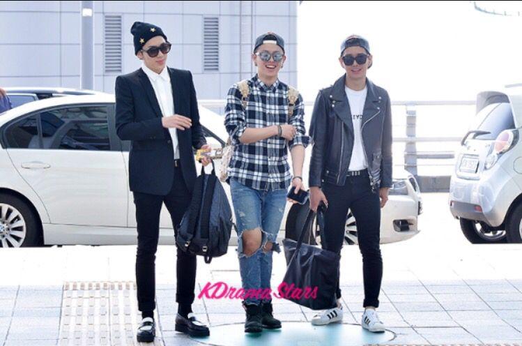 Zico, U-Kwon & B-Bomb (Block B)