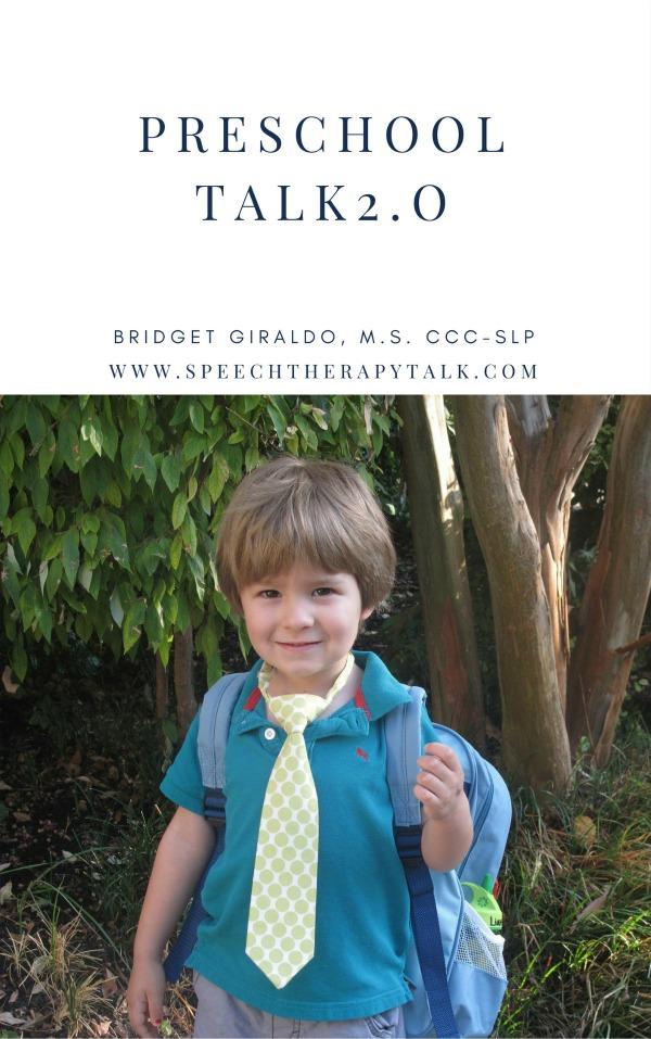 Preschool Talk (With images) | Preschool, Language ...
