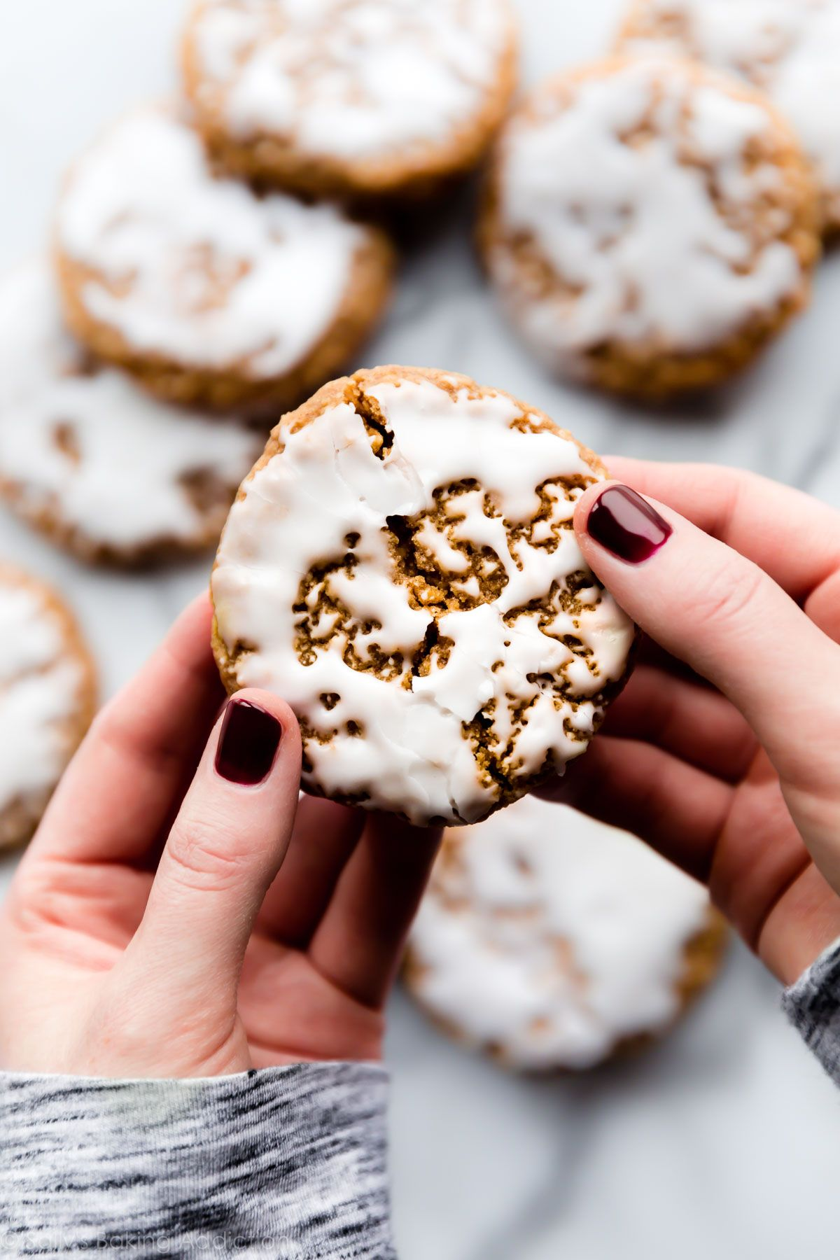 Watch Iced and Spiced Biscuits Recipe video
