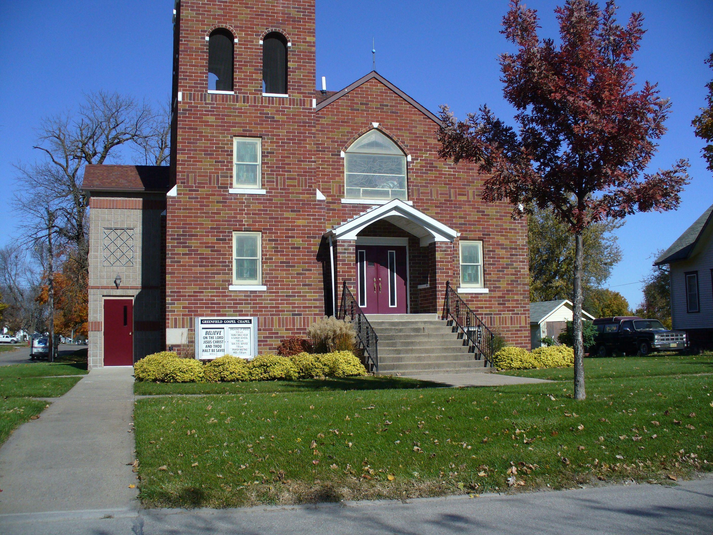 Old Church Greenfield Iowa