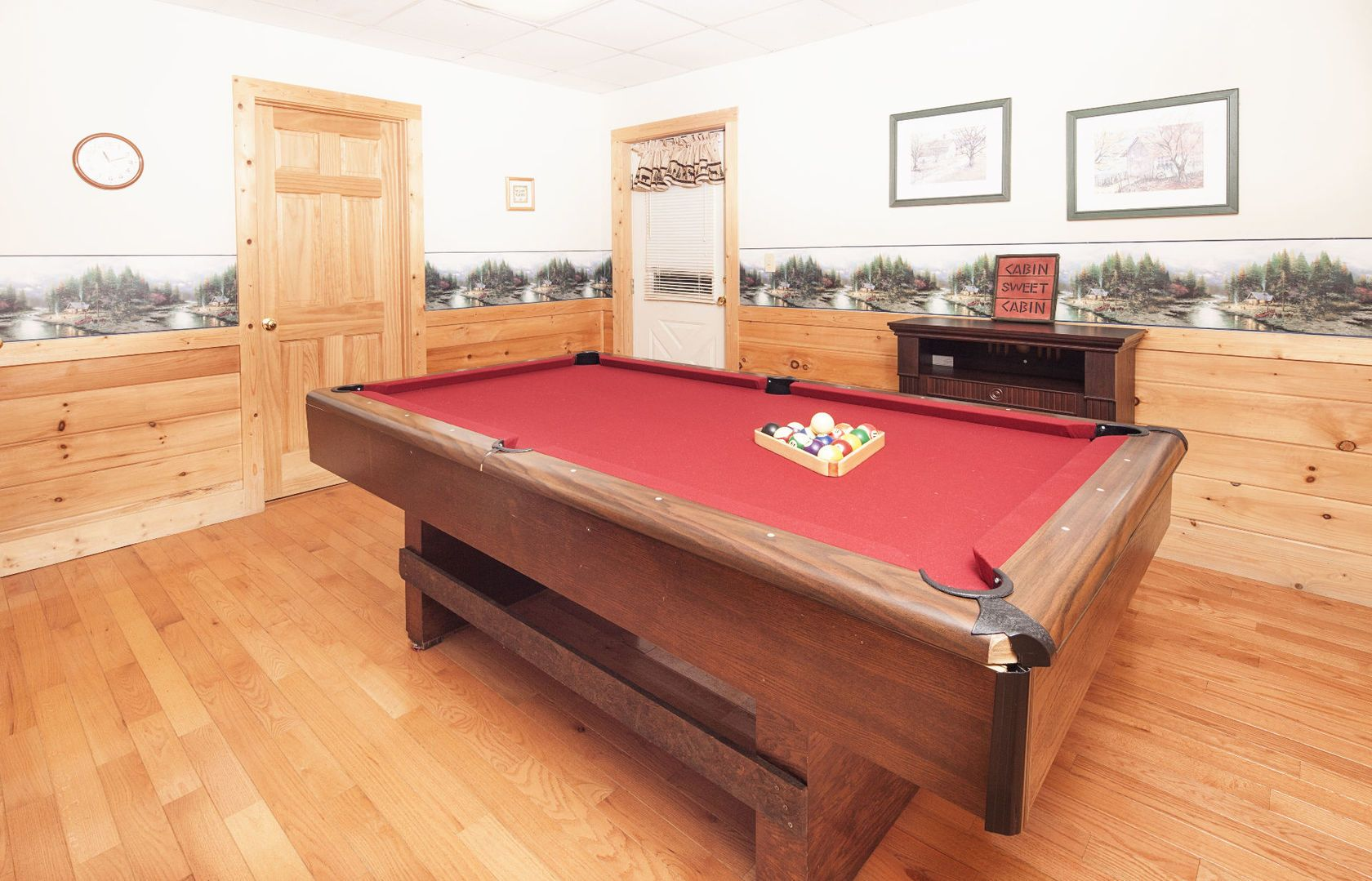 Young's Hideaway Challenge someone to a game of pool