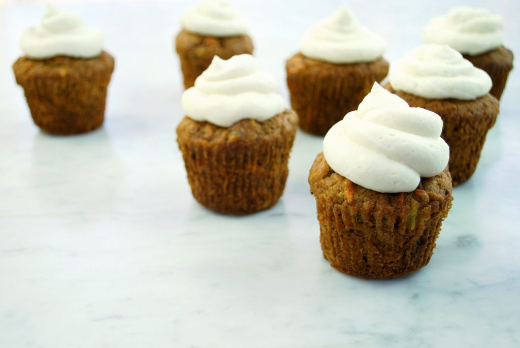 Carrot Cake Cupcakes With Heavenly Frosting Recipes To Cook