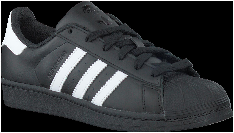 zwarte adidas sneakers superstar 80s dames
