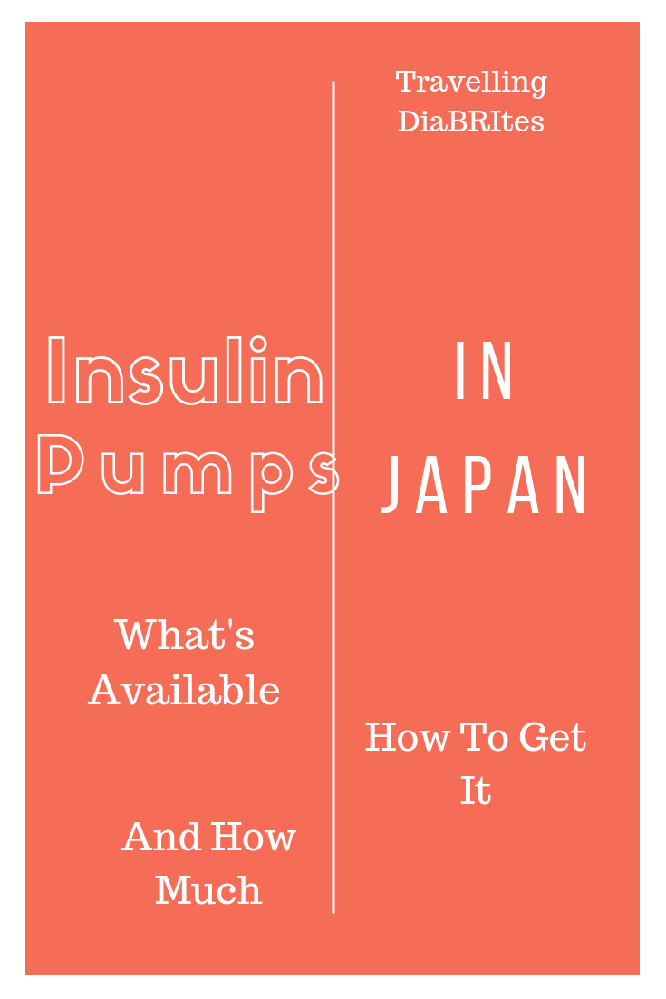 Insulin pumps in Japan | Travel insurance companies ...