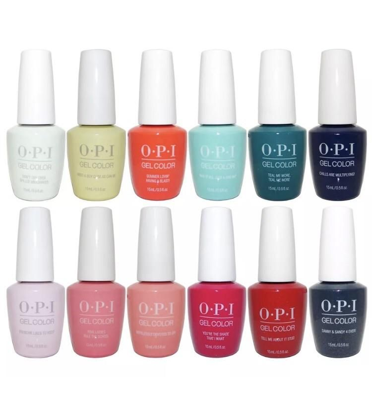 Nail Polish Colors Spring 2018 Opi: Grease Summer 2018 Collection