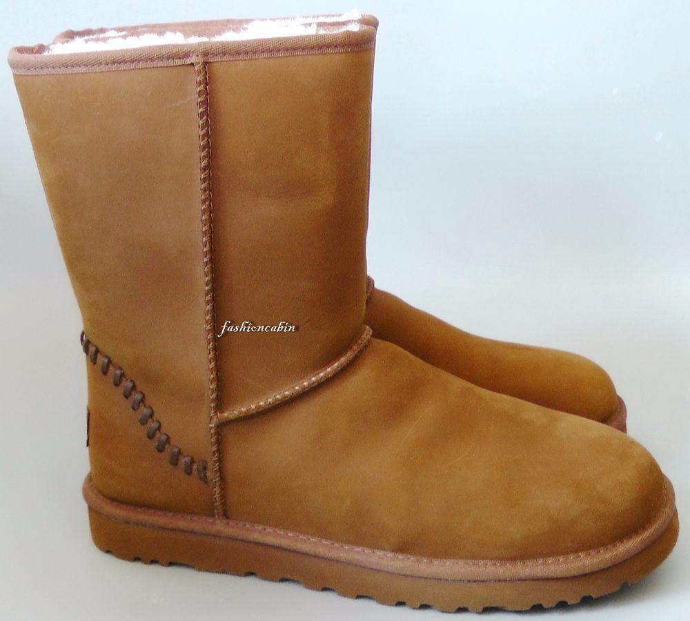 Détails sur MEN SHORT NEW UGG AUSTRALIA Détails MEN S CLASSIC SHORT DECO Bottes Chaussures 5c50431 - deltaportal.info